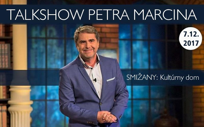 7.12.201719:00 VYPREDANÉ!!!<br>NESKORO VEČER Talkshow Petra MARCINA