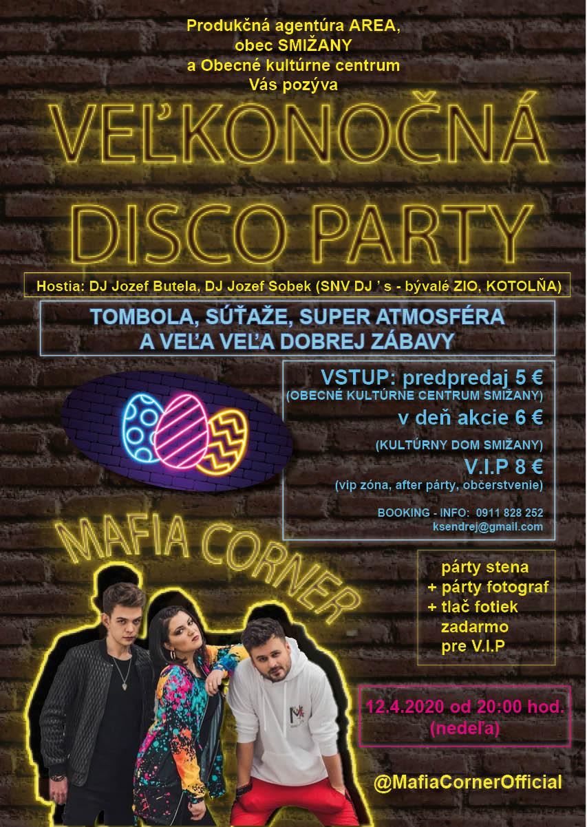 Veľkonočná disco párty